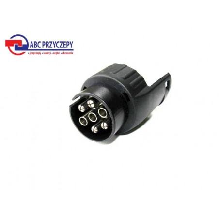 Redukcja, adapter, przejściówka wtyczka 7 pin - 13 pin /12V
