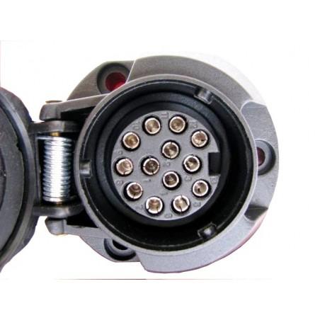 GNIAZDO PLASTIKOWE 13 pin /12V