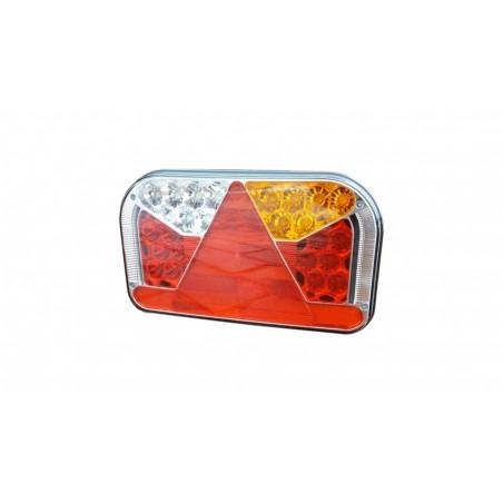 Lampa LED zespolona 12 - 36V 6-funkcyjna FT-170 L TD LED