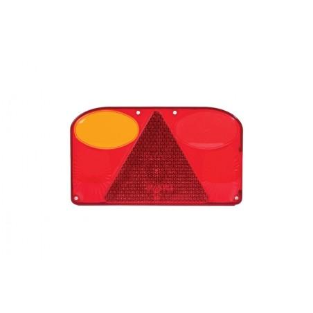 Klosz lampy lewej z trójkątem odblaskowym FT-088 LPM ze światłem przeciwmgłowym